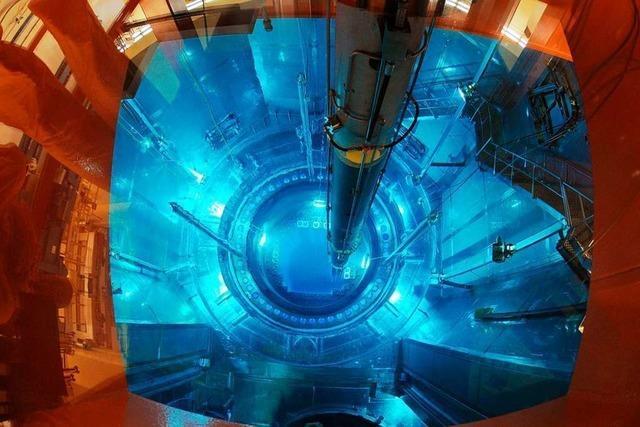 Deutschland liefert Brennelemente ins Atomkraftwerk Leibstadt