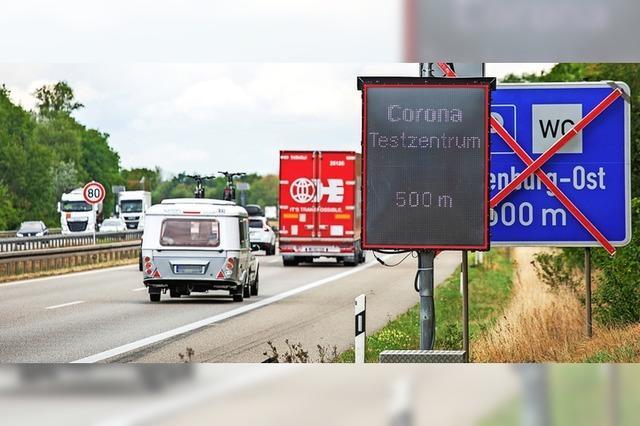 Fast 70.000 ließen sich an der Autobahn bei Neuenburg testen