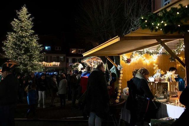 Soll der Weihnachtsmarkt in Sulzburg stattfinden?