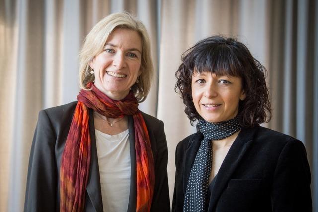 Chemie-Nobelpreis an Genforscherinnen Charpentier und Doudna