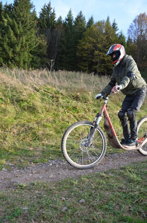 Rasant: der Downhill-Roller  | Foto: Anita Fertl