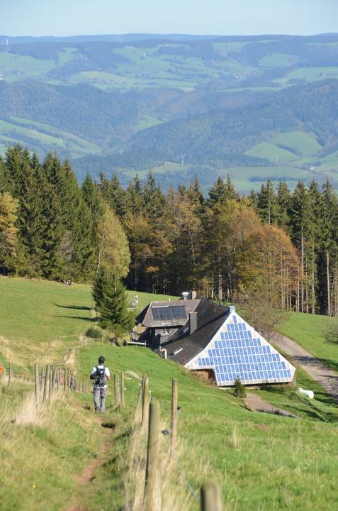 Vorreiter  in Sachen saubere Energie: die Rappenecker Hütte  | Foto: Anita Fertl