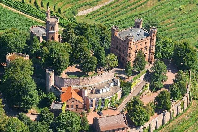 Der Besuch auf Schloss Ortenberg hat einen Hauch von Hogwarts