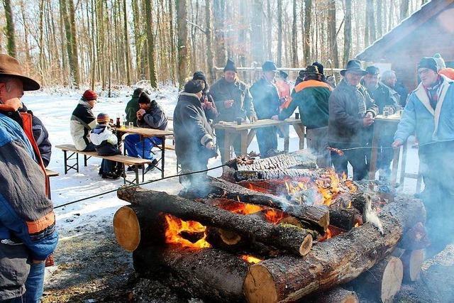 Das Forstrevier Markgräflerland verzichtet diesen Winter auf Holzversteigerungen