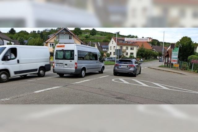 Planänderung für den Kreisverkehr
