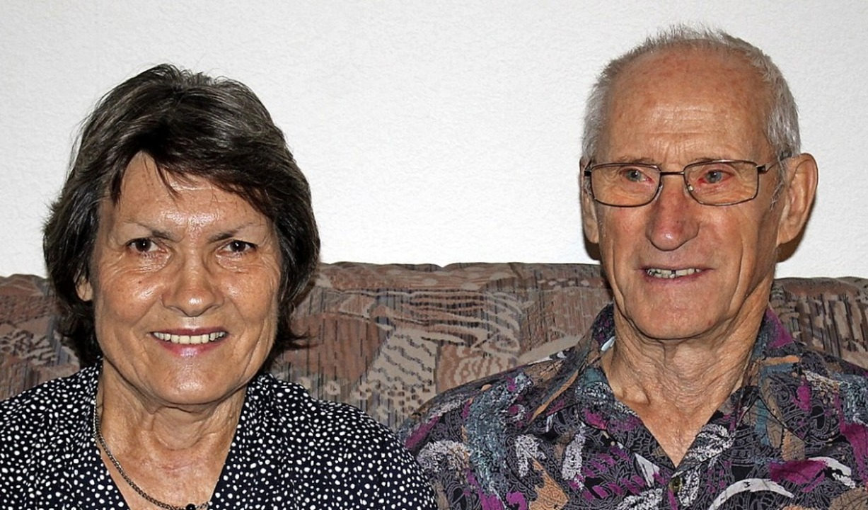 Gertrud und Horst Ketterer     Foto: Hans Spengler
