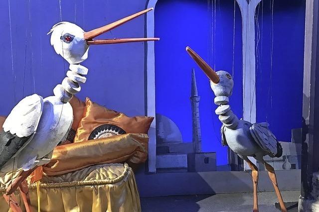 Marionetten Theater Basel startet mit Familienstück