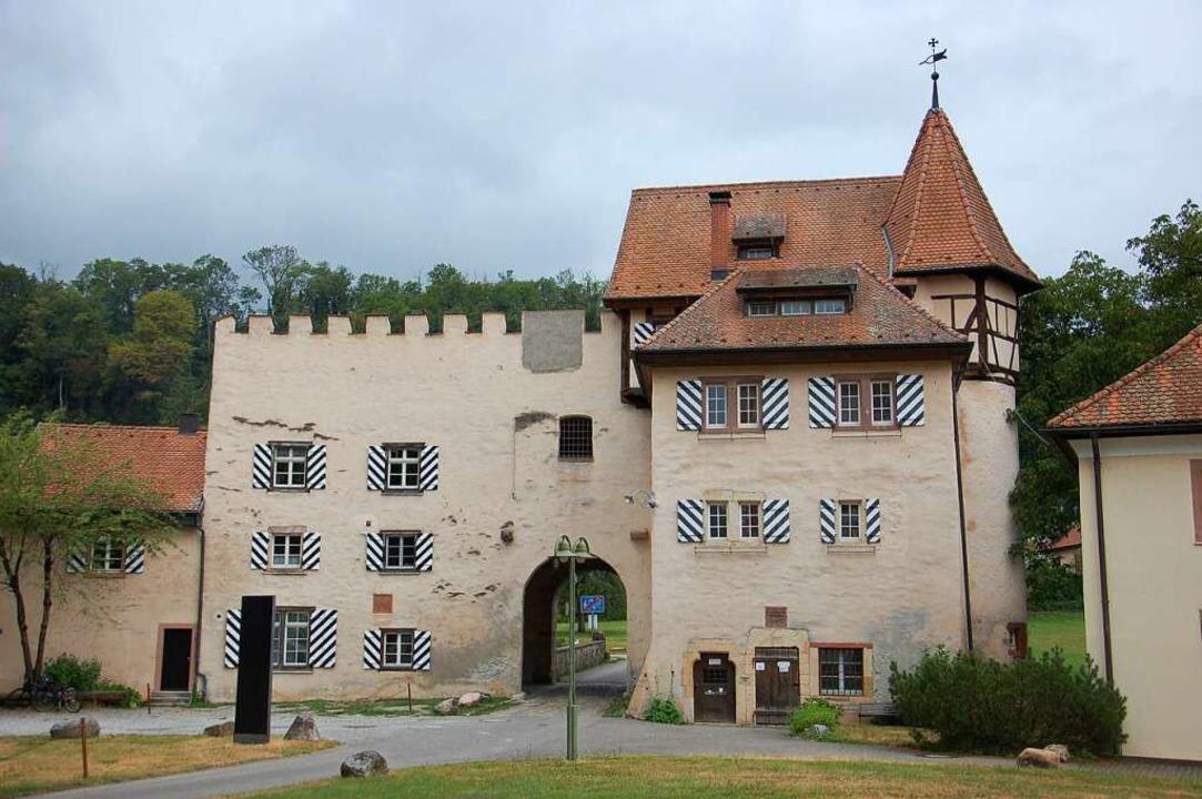 In der Nähe von Schloss Beuggen startet die Wanderung.  | Foto: Franz Schmider