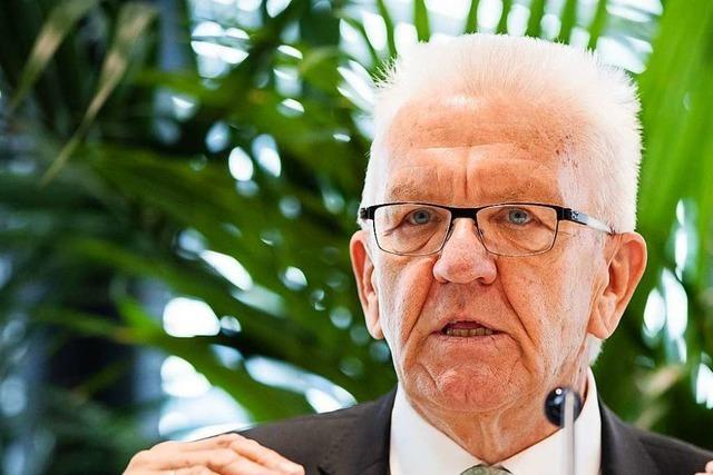 Anmeldung für Bürgerdialog mit Ministerpräsident Kretschmann