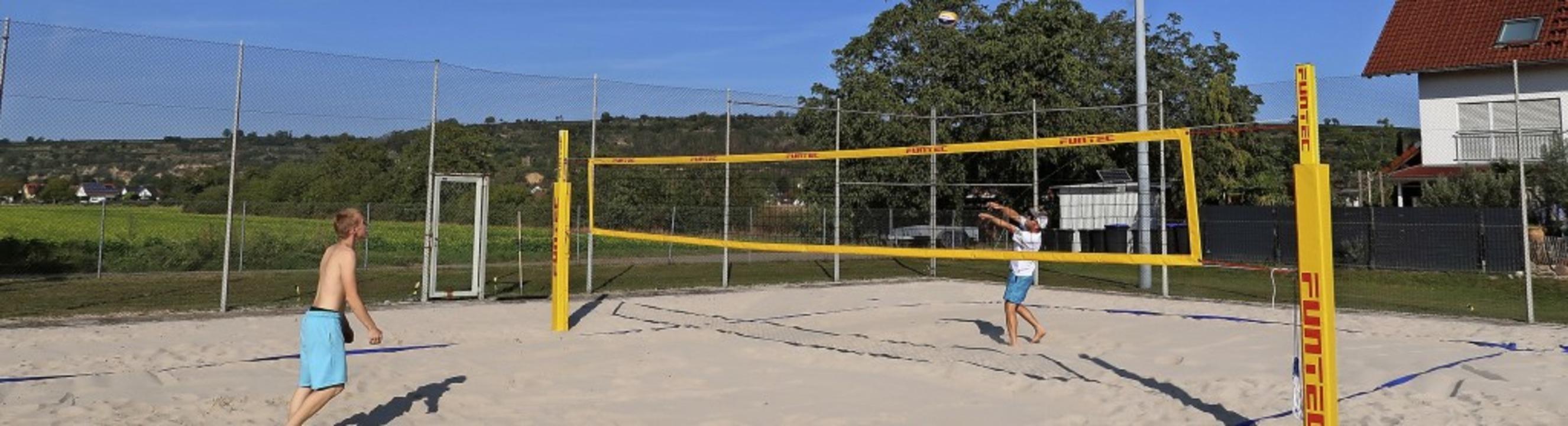 Auf dem Gelände des Christophorus Juge...rde ein Beachvolleyballplatz angelegt.  | Foto: Christine Weirich