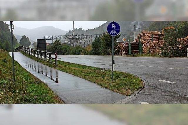 Chance für Verlängerung des Radwegs nach Wagensteig