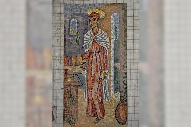 Mosaik entdeckt