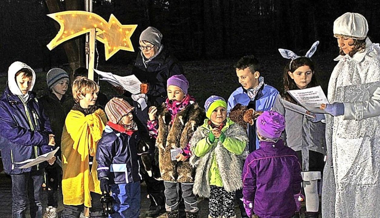 Die Waldweihnacht wird in Laufenburg a...haft sein für Gottesdienste im Freien.    Foto: Michelle Güntert