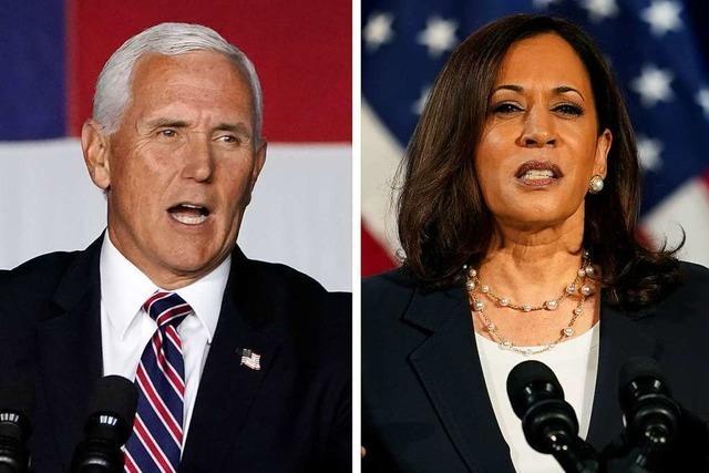 Liveticker zum Nachlesen: So war das TV-Duell zwischen Pence und Harris