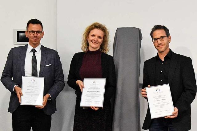 Eine innovative Reha-Plattform erhält den Eberle-Preis