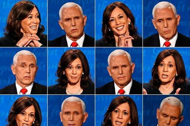 TV-Duell: Vizepräsident Pence macht Ausflüchte über Corona-Strategie