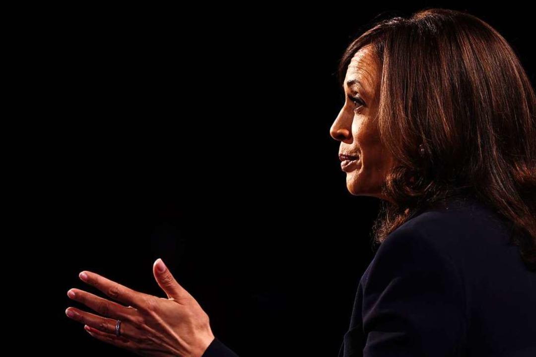 Senatorin Kamala Harris.    Foto: JUSTIN SULLIVAN (AFP)