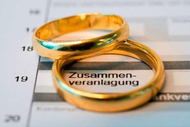 Ökonomen fordern Reform des Ehegattensplittings