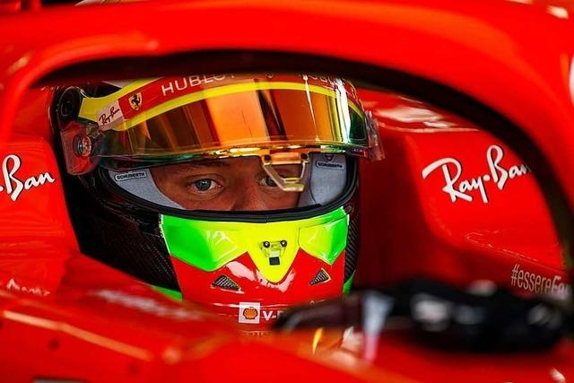 Für Mick Schumacher ist das Cockpit ein Rückzugsort – wie einst für Vater Michael