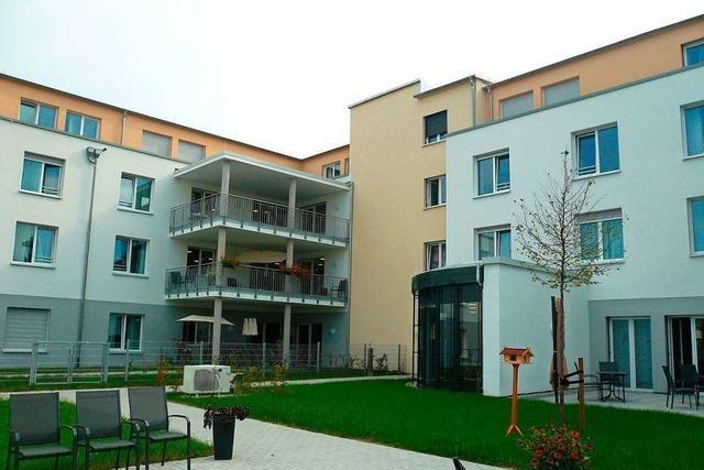 Neues Pflegeheim der Caritas in Umkirch schon zu zwei Dritteln belegt