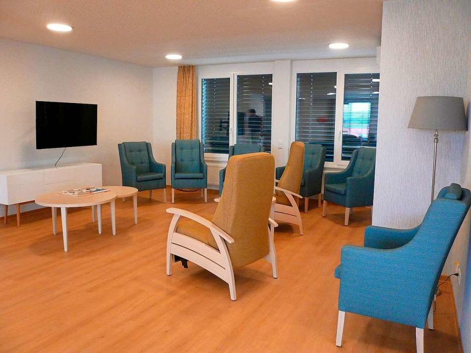 Das Pflegeheim ist in Wohngruppen eingeteilt.    Foto: Nina Herrmann
