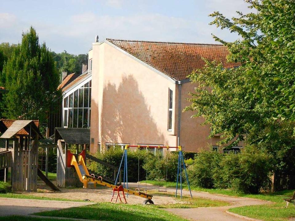 Das Holzener Akademiegebäude steht derzeit leer.    Foto: langelott