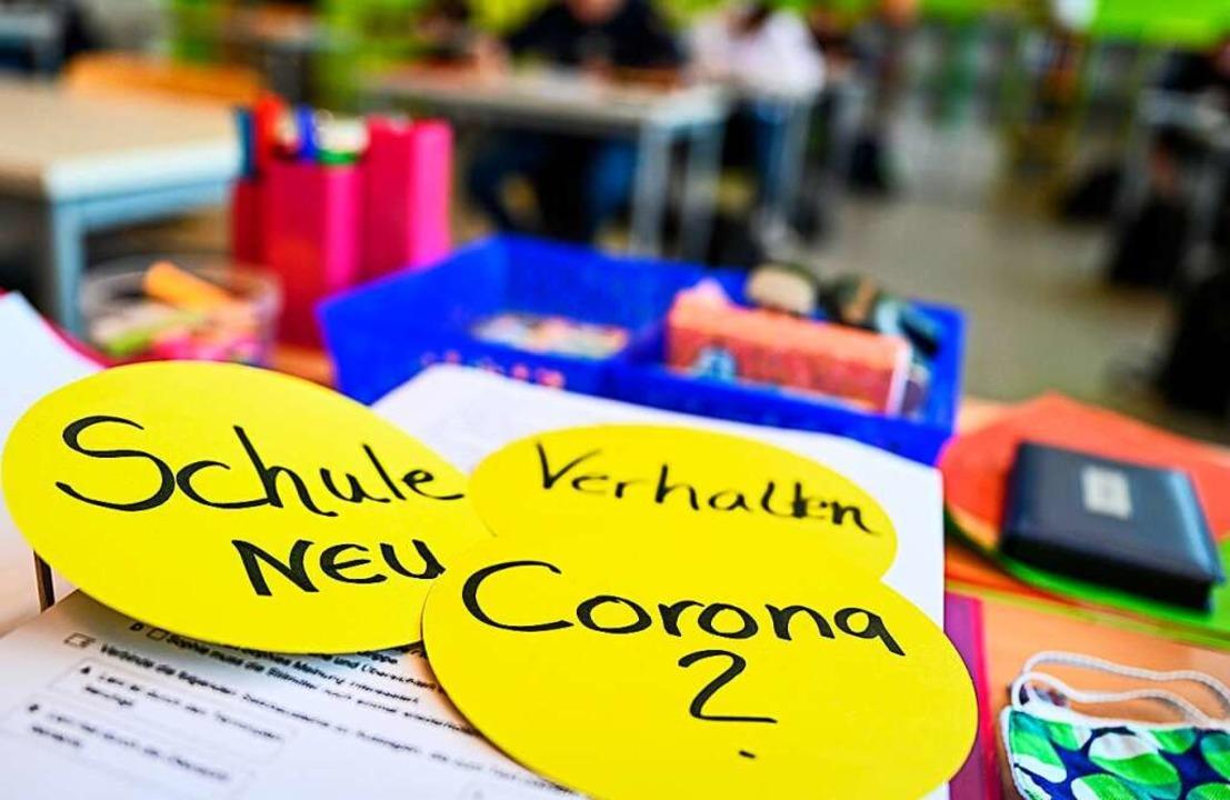 Wie wird der Schulstart unter Corona-B...ur Eltern Lehrer und Schüler gestellt.    Foto: Felix Kästle