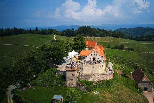Auf dem Schloss Staufenberg für ein paar Stunden König sein