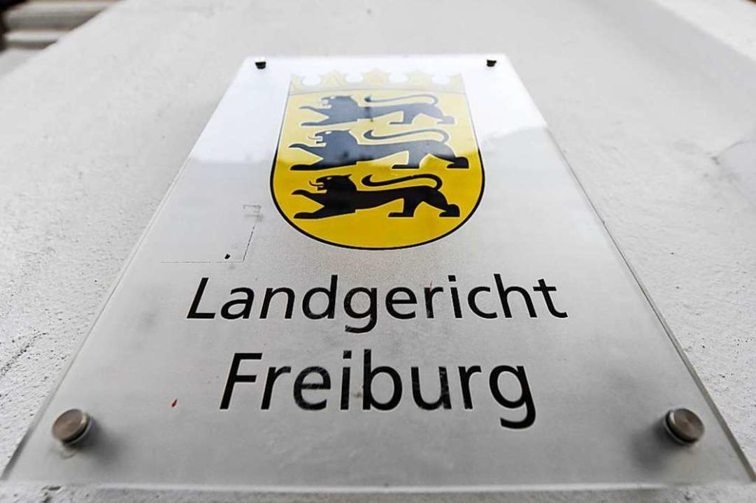 Der Prozess gegen den 29-Jährigen wird vor dem Landgericht Freiburg geführt  | Foto: Patrick Seeger (dpa)