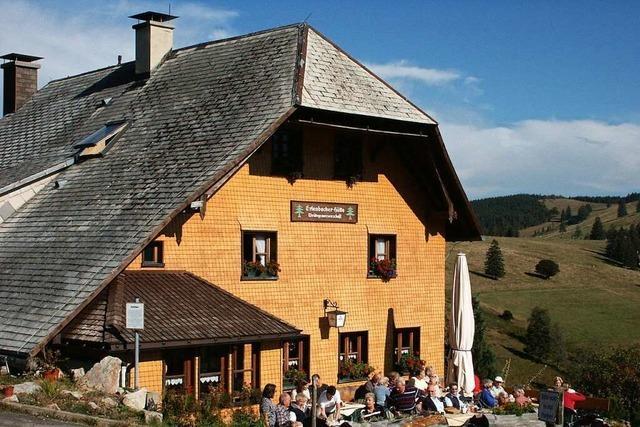 Die Erlenbacher Hütte bietet das ganze Jahr über regionale Produkte