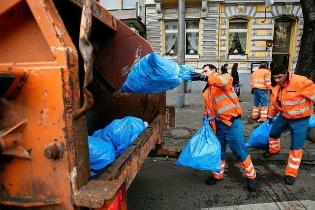 Bei der Müllabfuhr dürfen nicht einzelne Anbieter die Preise diktieren