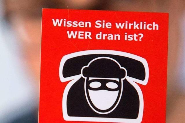 Telefonbetrüger erbeuten hohe Geldbeträge von Senioren aus Lörrach