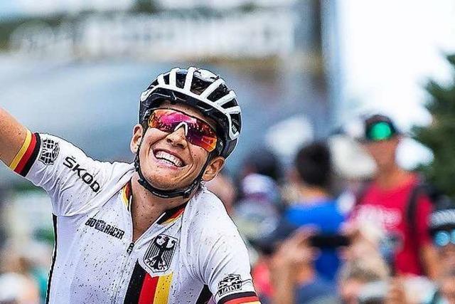 Die deutsche WM-Hoffnung ist der Freiburger Max Brandl vom Team Lexware