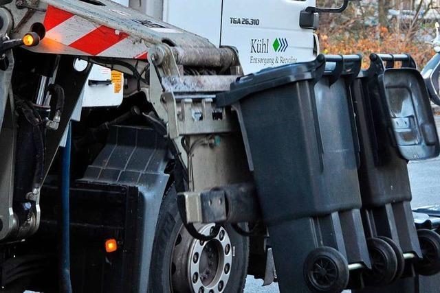 Müllgebühren im Kreis Lörrach sollen 10 Prozent teurer werden