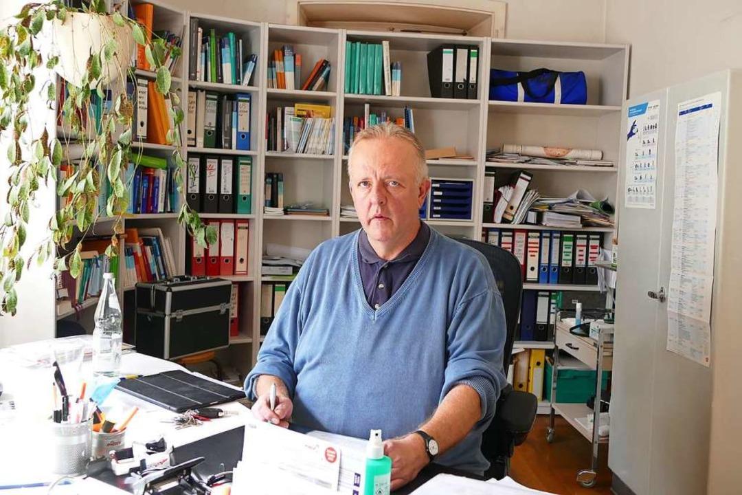 Am 27. November will  der Ihringer Hau...as Stockburger in den Ruhestand gehen.  | Foto: Agnes Pohrt