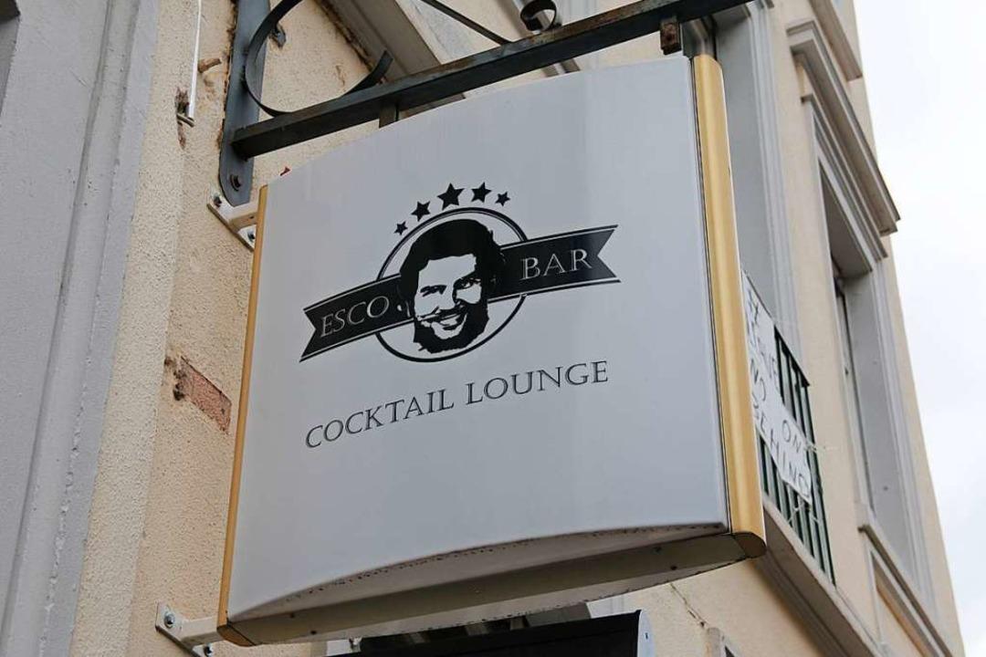 Das Logo der Escobar in der Wilhelmstraße.  | Foto: Joshua Kocher