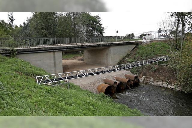 Alles klar zum Brückenabriss