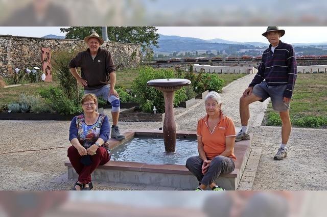 Ein Brunnen für den Klostergarten
