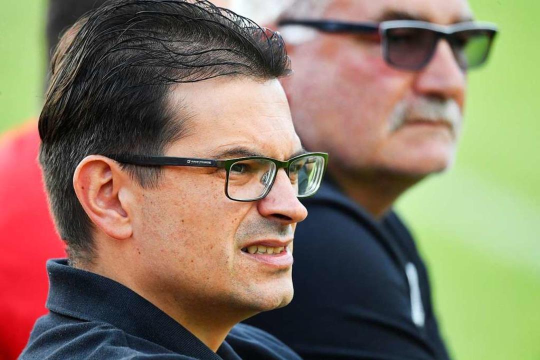 SV-Coach Michele Borrozzino  | Foto: Achim Keller