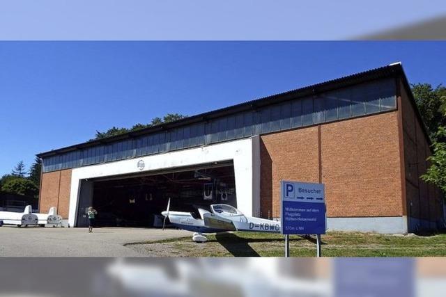 Landwirte sträubten sich gegen Bau der Flugzeughalle