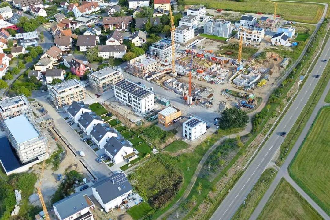 Noch wird durch die Erschließung von N...h wieder mehr innerorts gebaut werden.    Foto: Volker Jung