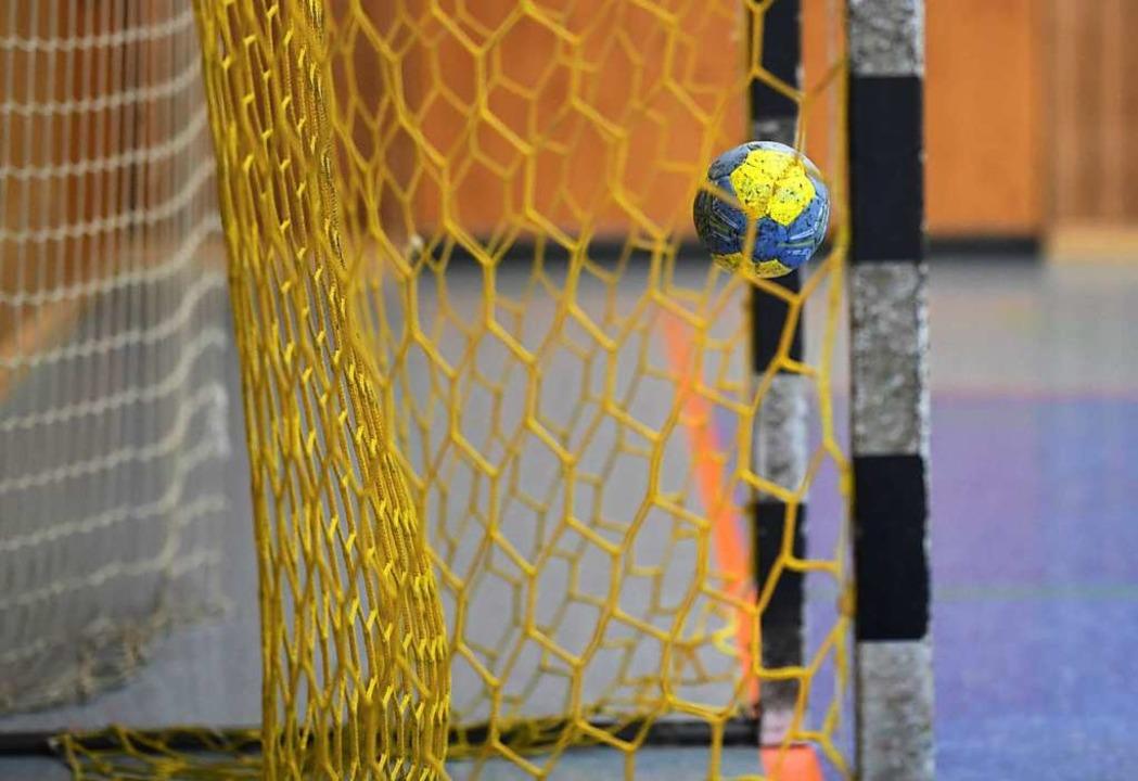 Bis auf weiteres fliegt in der Teninge...-Jahn-Halle kein Ball ins Handballtor.  | Foto: Patrick Seeger