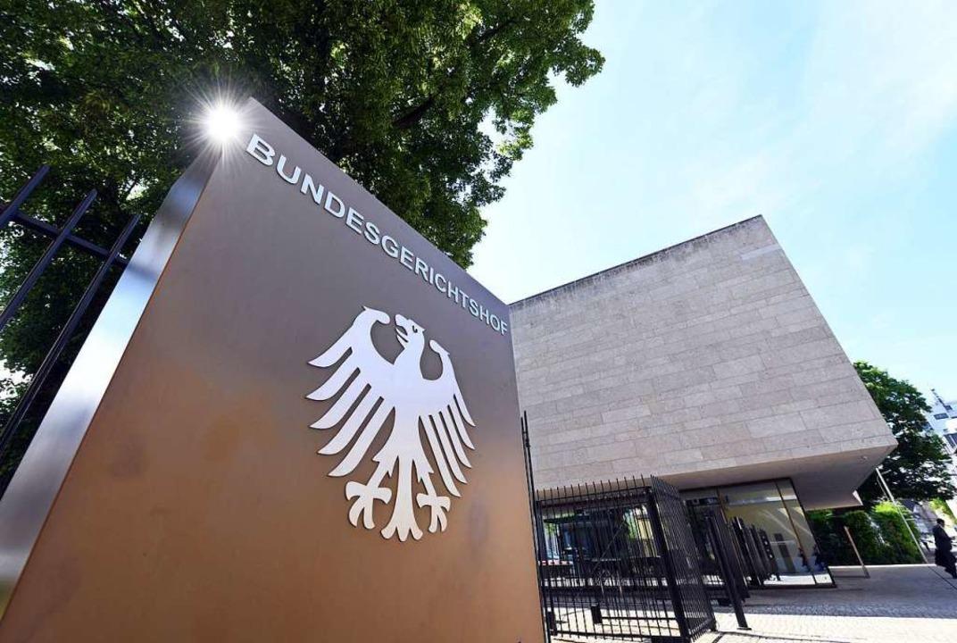 DEr Bundesgerichtshof in Karlsruhe  | Foto: Uli Deck
