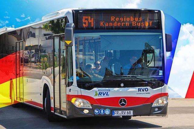 Ab Dezember fährt ein Regiobus von Lörrach ins Elsass