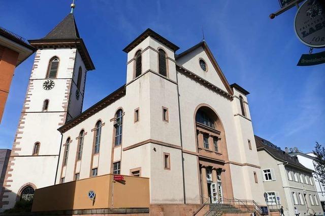 Sanierung der Stadtkirche in Lörrach wird umfangreicher als gedacht
