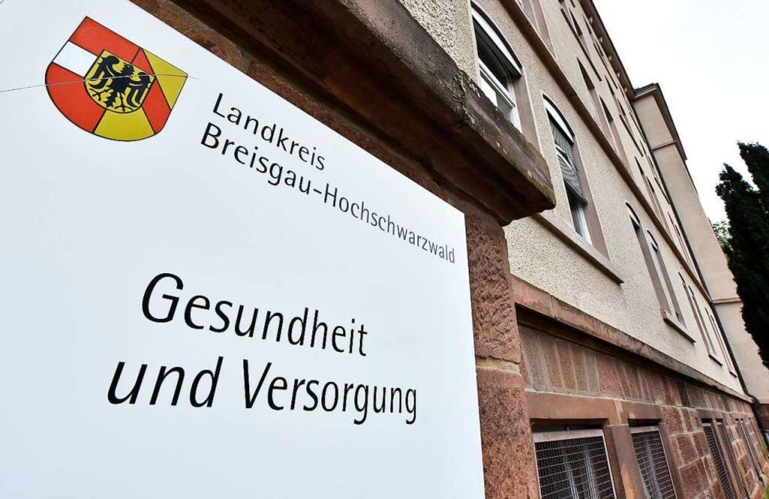 Das Gesundheitsamt im Freiburger Behördenviertel  | Foto: Michael Bamberger
