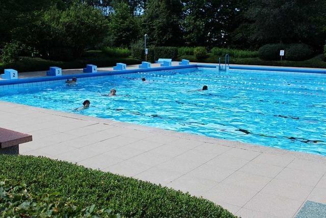 Das Freibad in Grenzach-Wyhlen zählt 54.000 Badegäste