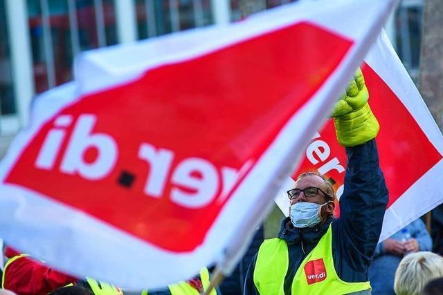 Verdi kündigt flächendeckende Warnstreiks in Südbaden an