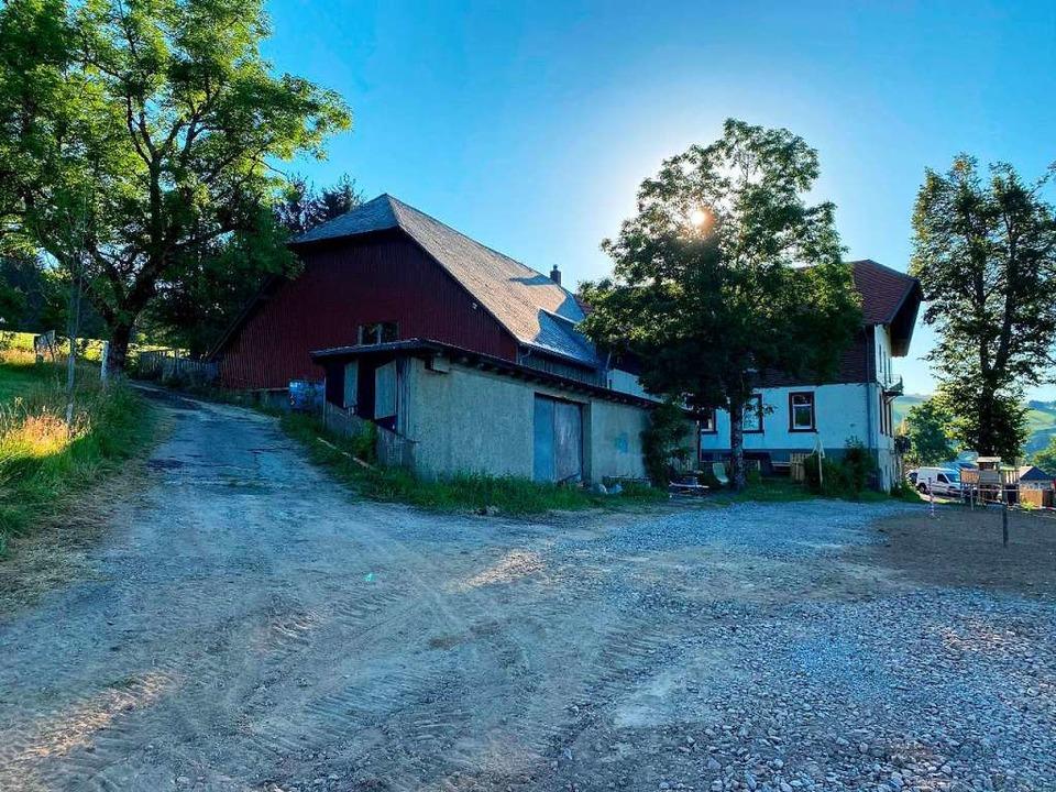 Der rückwärtige Bereich, wie er sich heute präsentiert  | Foto: Gemeinde Münstertal