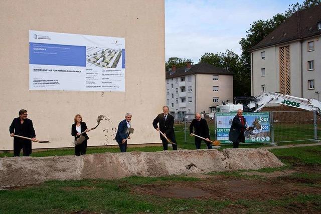 40 Millionen Euro teurer Spatenstich für das Quartier 5 in Müllheim